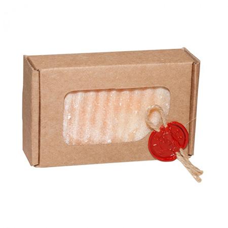Натуральное мыло соляное, клубничный торт jurassic spa