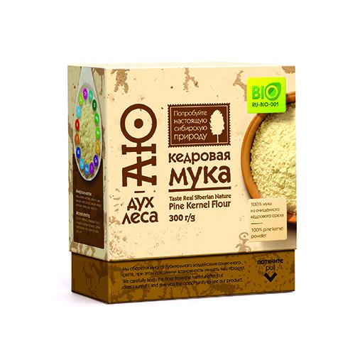 Мука кедровая «аю-дух леса» пудовъ мука ржаная обдирная 1 кг
