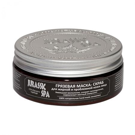 Маска-скраб для жирной и проблемной кожи лица jurassic spa spa pharma лосьон для лица для жирной и проблемной кожи spa pharma 235 мл