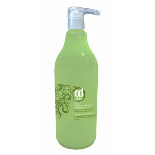 Spa горячее обертывание-ламинирование для волос с шелком constant delight, 1 л КД12491
