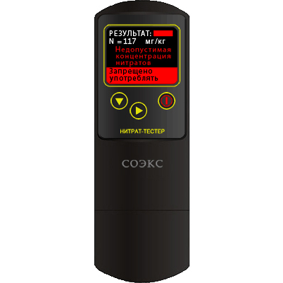 Прибор для измерения нитратов (нитратомер) Нитрат тестер СОЭКС
