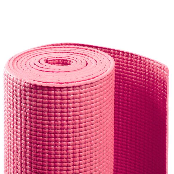 Коврик для йоги асана стандарт (розовый) (Yoga)