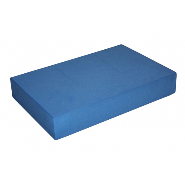 Опорный блок для йоги из eva-пены плоский yoga block (Yoga)