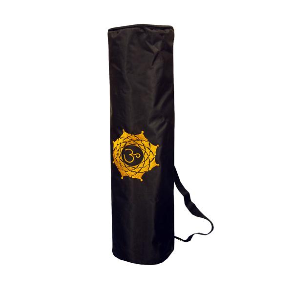 Чехол для коврика magic om нейлон (черный) (Yoga)