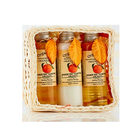 Набор средств для волос и тела мандарин (360 мл) organic tai