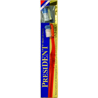 Зубная щетка president gold soft мягкая (President)