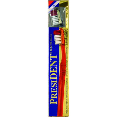 Зубная щетка president gold hard жесткая
