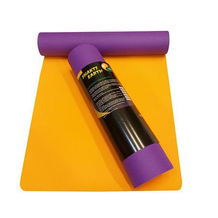 Коврик для йоги шакти earth (фиолетовый) (Yoga)