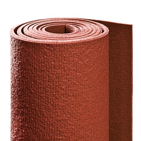 Коврик для йоги yin-yang studio  (ришикеш), красный (Yoga)