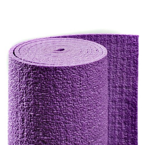 Коврик для йоги сита (фиолетовый, 185 см) (Yoga)