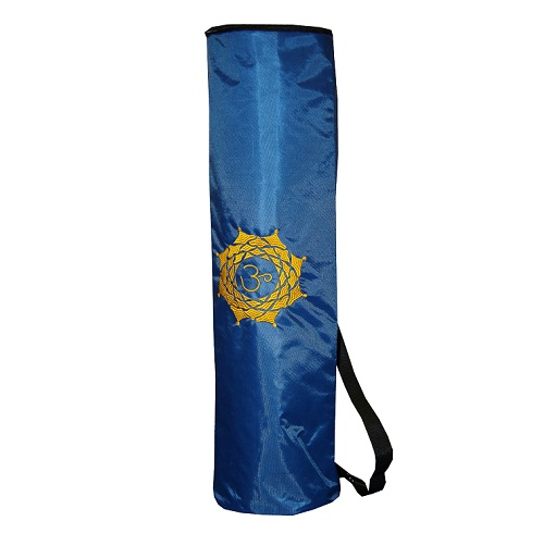 Чехол для коврика magic om нейлон (синий) (Yoga)