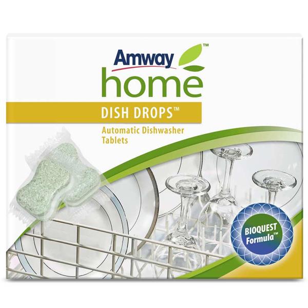 Dish drops таблетки для посудомоечных машин amway (Amway)
