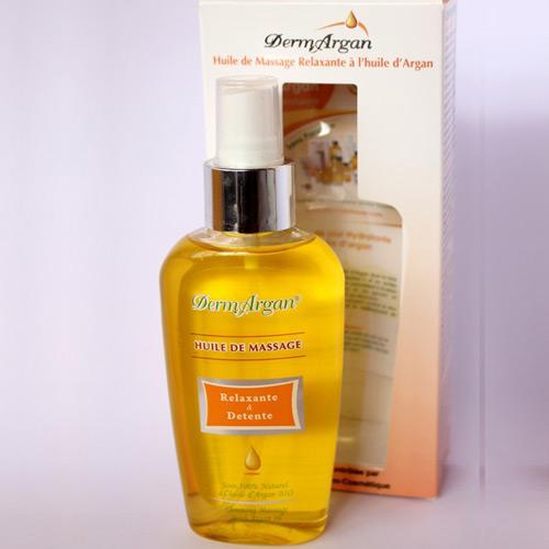 Аргановое масло для массажа с расслабляющим эффектом dermargan (DermArgan)