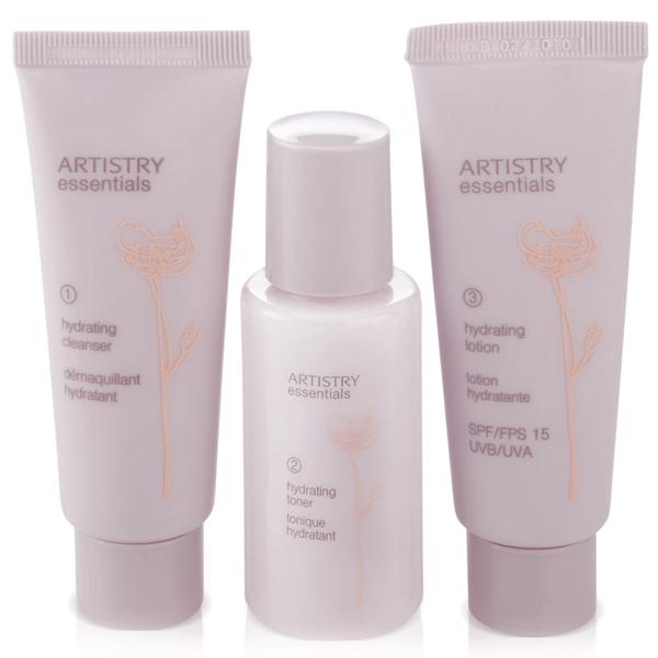 Artistry увлажняющая мини-система для ухода за кожей лица amway