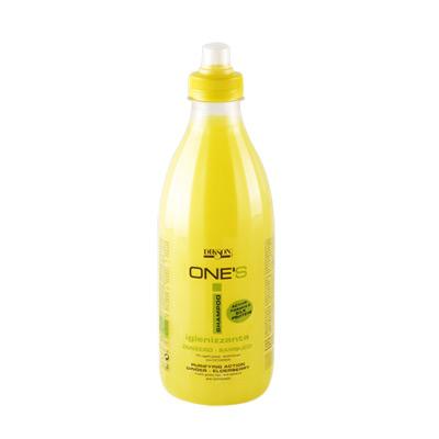 Балансирующий шампунь для жирных волос и против перхоти dikson