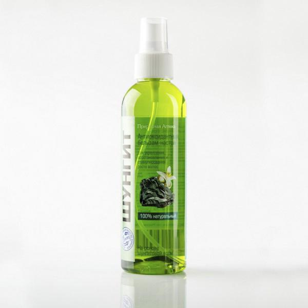 Антиоксидантный бальзам-настой для укрепления волос шунгит шунгит