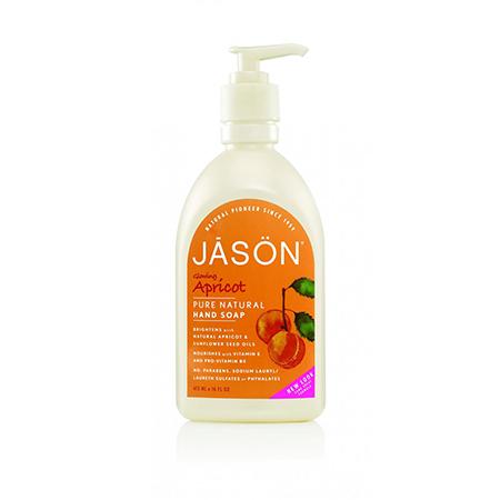 Жидкое мыло абрикос jason