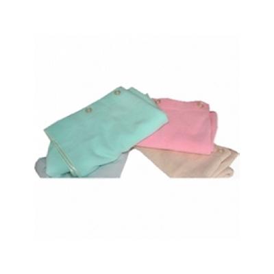 Полотенце для сауны розовое белый кот