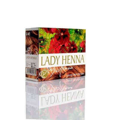 Краска для волос на основе хны lady henna aasha (цвет светло-коричневый) ааша (ААША)
