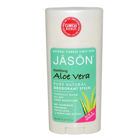 Твердый дезодорант алоэ вера jason (Jason)