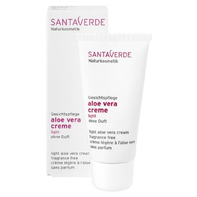 Крем легкий aloe vera basic, неароматизированный santaverde (Santaverde)