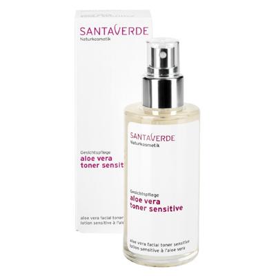 Тоник увлажняющий aloe vera refreshing для сухой и чувствительной кожи santaverde (Santaverde)