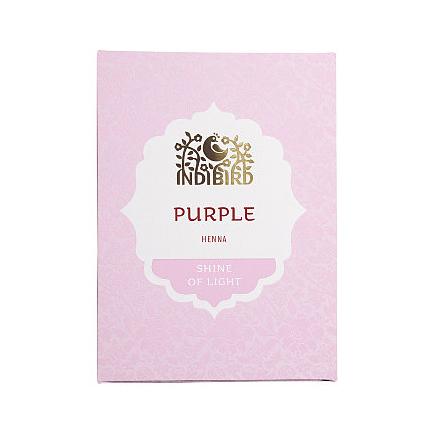 Аюрведическая краска на основе индийской хны пурпурная амрита