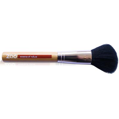 Бамбуковая кисточка для румян и пудры-бронзат zao