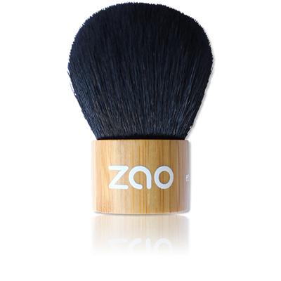 Бамбуковая кисточка кабуки для рассыпчатой пудры zao (ZAO)