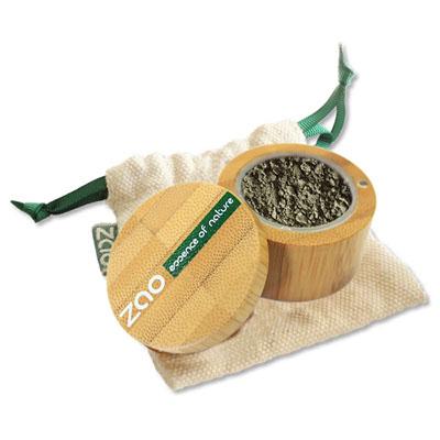 Минеральные рассыпчатые тени 533 (золотисто-зеленый) zao