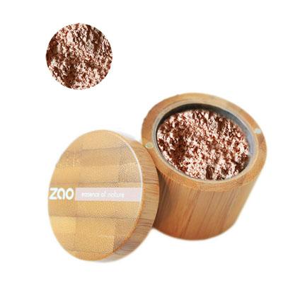 Минеральная рассыпчатая пудра 502 (розово-бежевый) zao (ZAO)