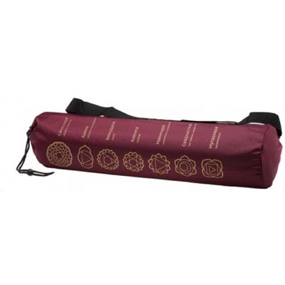 Чехол для коврика чакра (бордовый) yoga (Yoga)