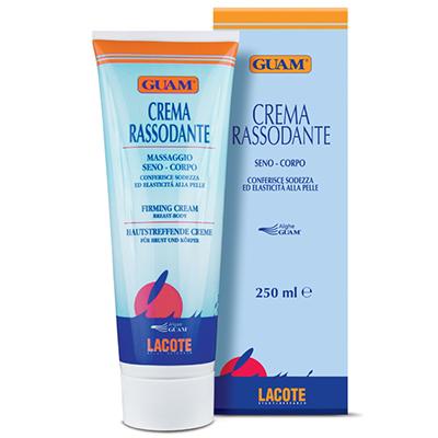 Крем-лифтинг для тела и груди массажный crema guam
