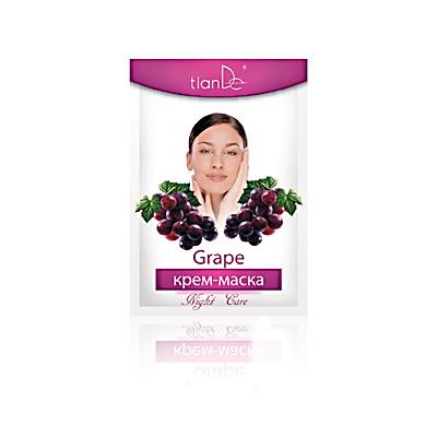 Крем-маска ночная виноград тианде (ТианДе)