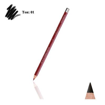 Карандаш для глаз и губ (тон 01) black тианде (ТианДе)