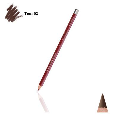 Карандаш для глаз и губ (тон 02) dark brown тианде (ТианДе)