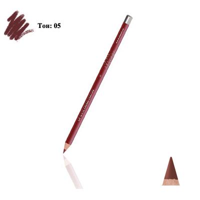 Карандаш для губ и глаз (тон 05)  mocha тианде (ТианДе)