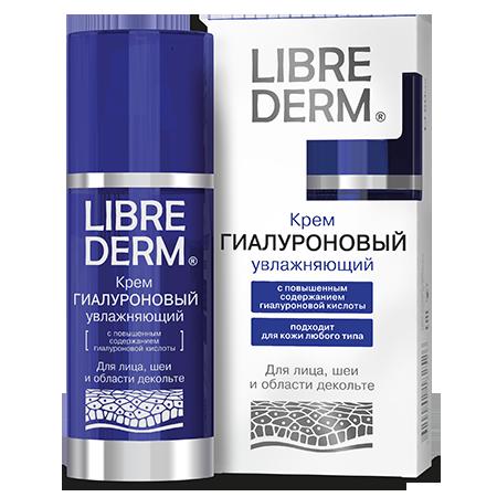 Гиалуроновый крем librederm для лица, шеи и области декольте (Librederm)