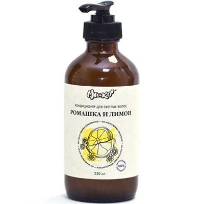 Кондиционер ромашка и лимон для светлых волос  мико