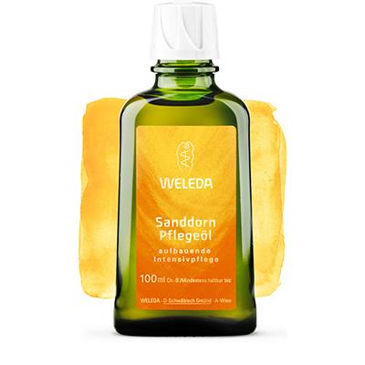 Питательное облепиховое масло weleda