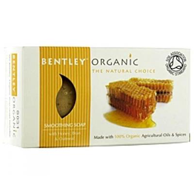 Мыло смягчающее c медом и отрубями. bentley organic (Bentley Organic)