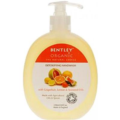 Мыло жидкое. детокс. с грейпфрутом, лимоном и водорослями bentley organic (Bentley Organic)