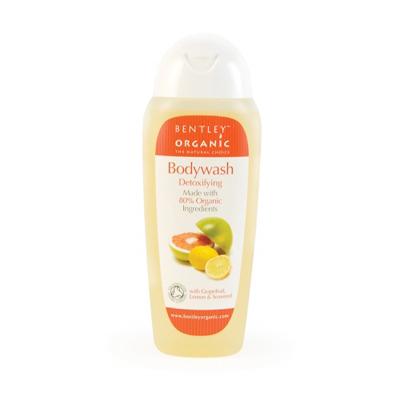 Гель для душа. детокс. с грейпфрутом, лимоном и водорослями bentley organic (Bentley Organic)