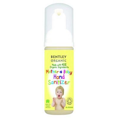 Очиститель для рук для матери и ребенка  bentley organic