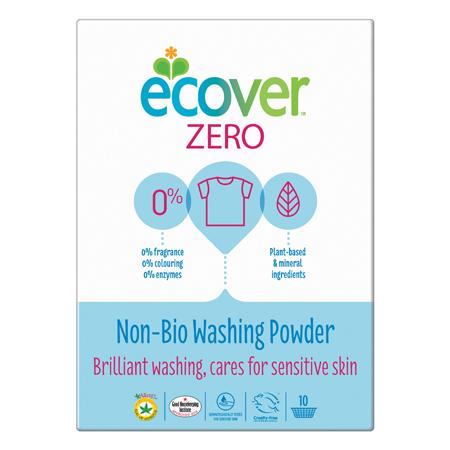 Экологический стиральный порошок-ультраконцентрат 750 гр zero non bio ecover (Ecover)