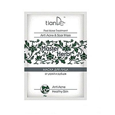 Очишающая маска для лица от угрей и рубцов tiande (ТианДе)