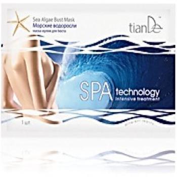 Маска-муляж для бюста морские водоросли spa technology tiande (ТианДе)