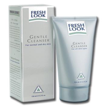 Очищающий крем-гель  для нормальной и сухой кожи fresh look