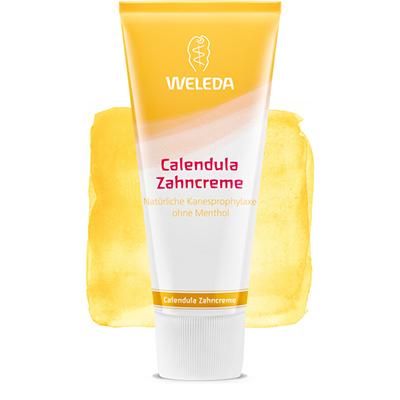 Зубная паста с календулой без запаха мяты weleda (Weleda)