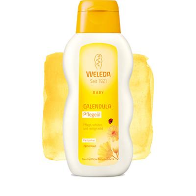 Масло с календулой для младенцев weleda